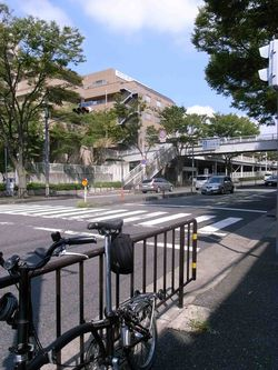山田駅近く
